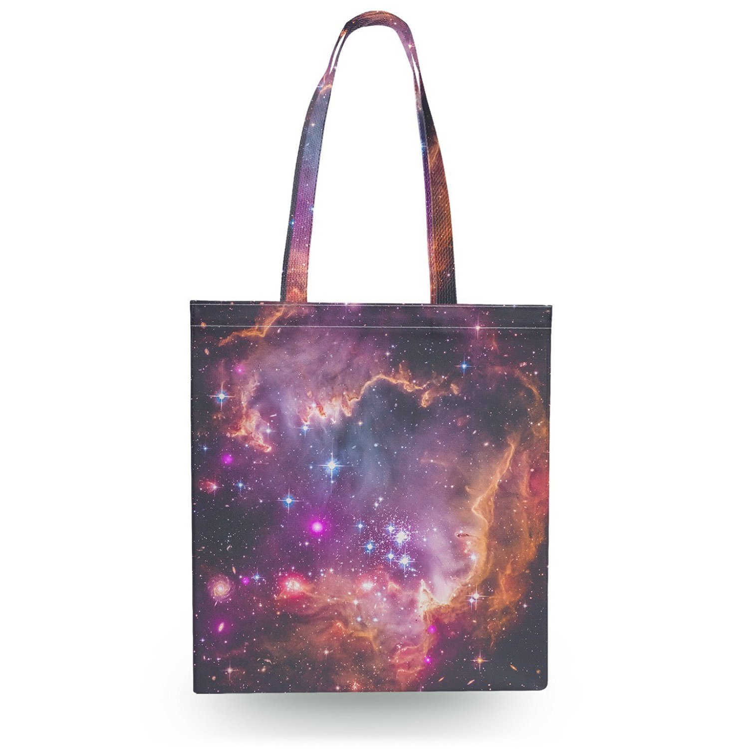 Get Quotations Fairytale Galaxy Canvas Tote Bag Book Gym Grocery