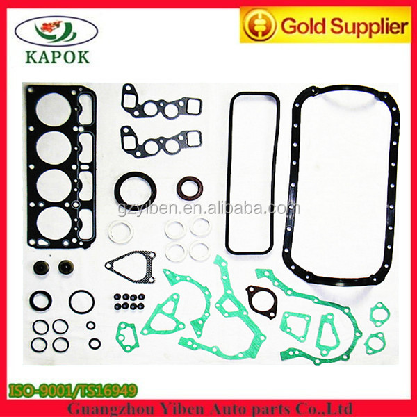 Professional and top quality engine 4K full gasket set for TOYOTA