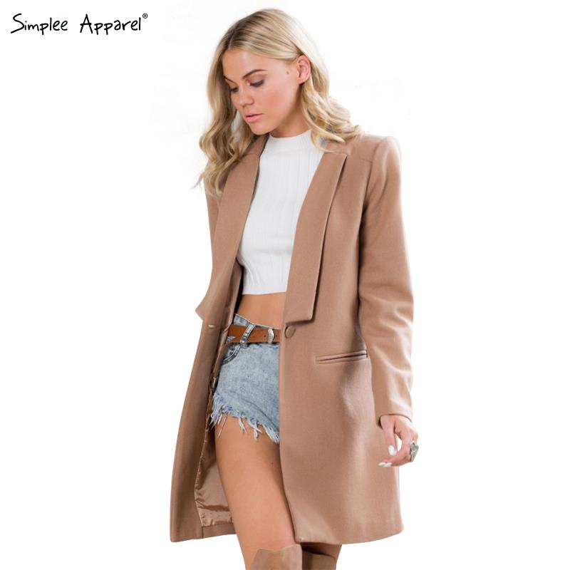 Buy Simplee Apparel Women Autumn Winter Cape Style Coat British