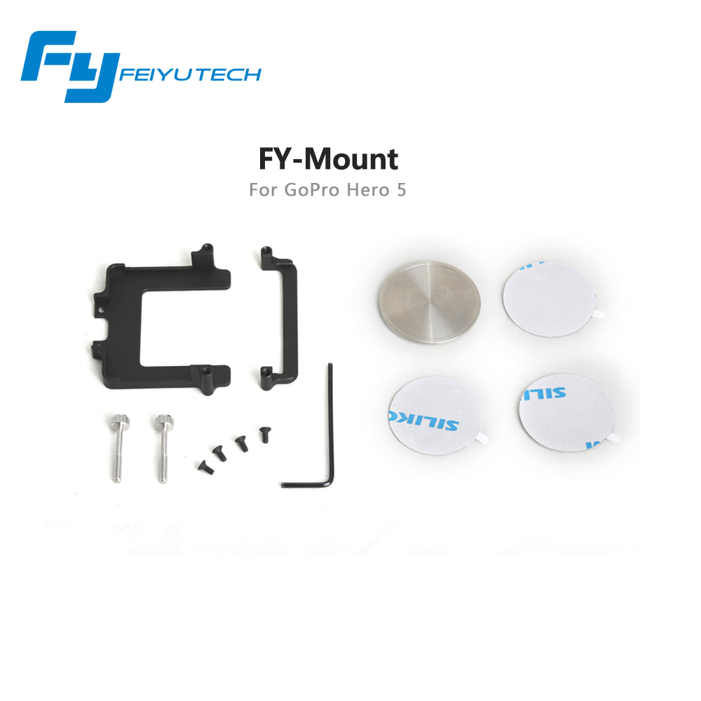 Feiyu FY G4 gimbal mount for Go Pro Her o 5 only compatible with G4 Gimbal / go pro 5 mount for feiyu G4 gimbal