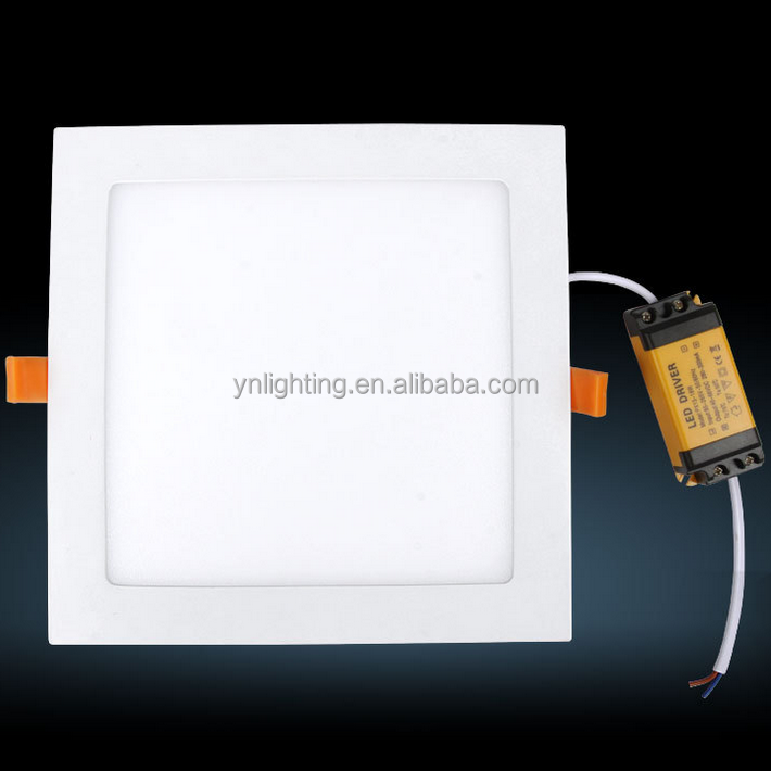 18w square led lux down light