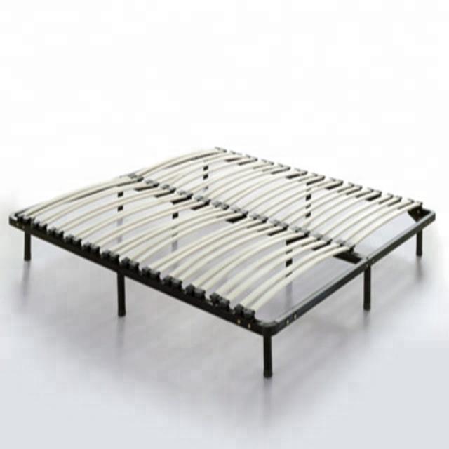 Double Metal Platform Bed Frame
