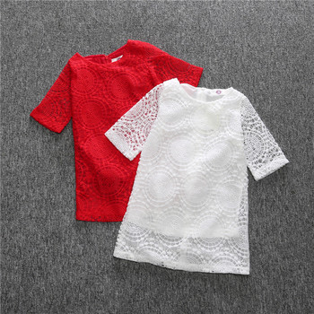 S13281a Kids Cloths Children Dress Embroidery Design Baby Girl Frock