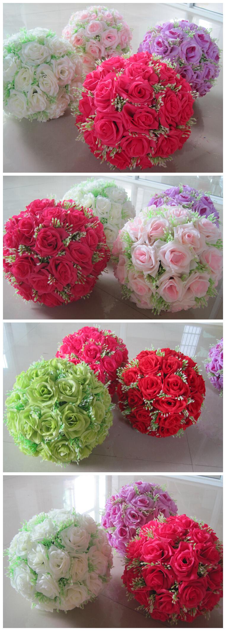 Hanging Flower Ball Wedding Flower Balls Decorative Artificial