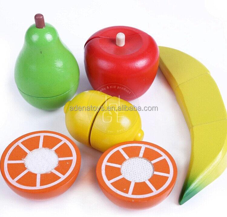 100% Grüne Farbe Holz Vorgeben Spielzeug Kinder Rollenspiel Obst Spielzeug Schneiden Von Gemüse Buy Kinder Baby Schneiden Von Obst Spielzeug,Früchte