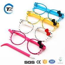 Gift Sationery Pen Cartoon Bowknot Colorful Glasses Ball Pen Student Promotional Ballpoint Pen