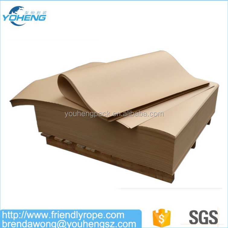 Virgin Pulp 40gsm Brown Kraft Paper For Bags Good quality 120gsm white kraft paper for handbags