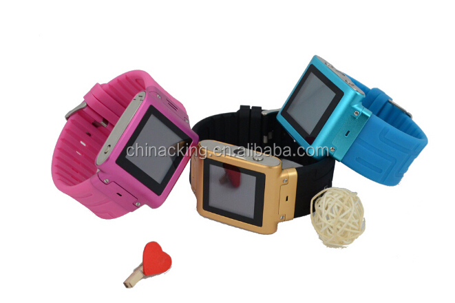 Touch screen bluetooth fashion waterproof new model watch mobile phone