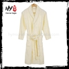 New style men white cotton bath robe made in China