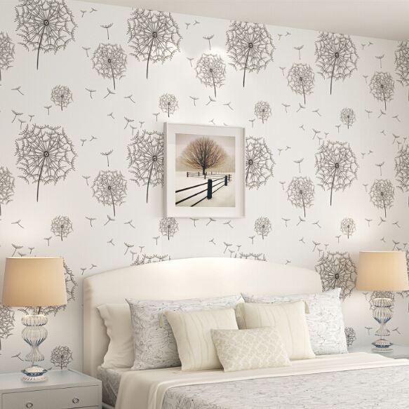 diente de len romntica idlico esttica wallpaper dormitorio mesita de noche tienda para nios papel pintado