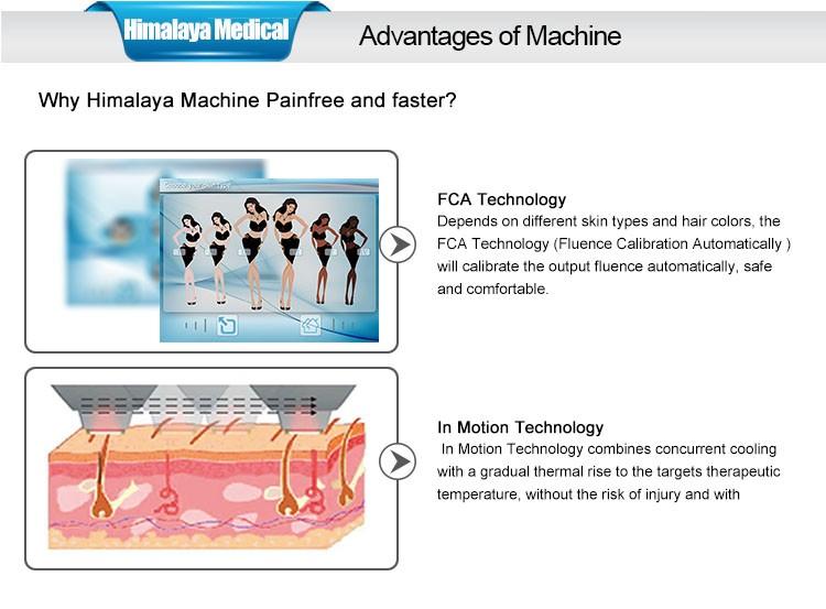 KES vente Chaude CE approuvé épilation au laser super laser shr machine D'OPT SHR