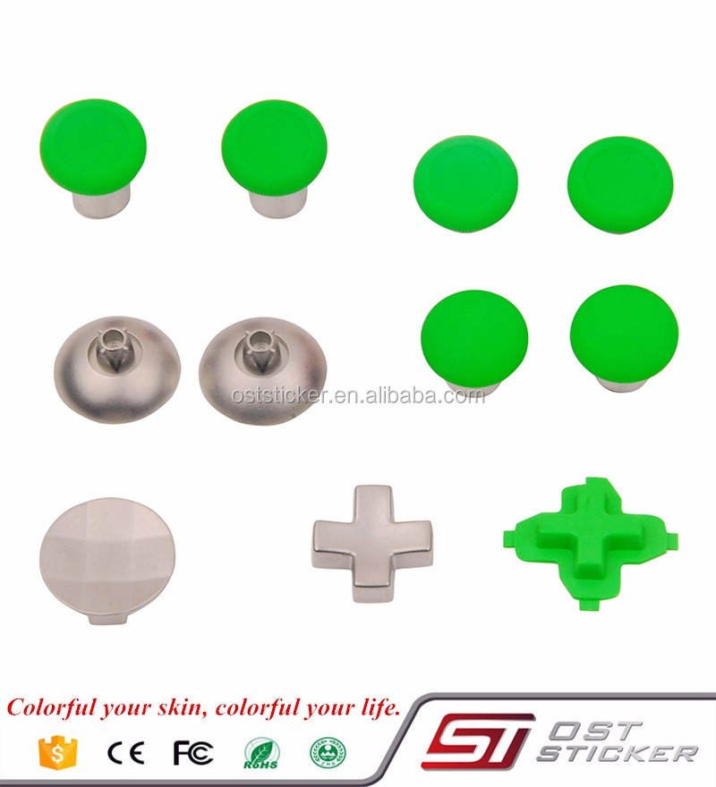 H S M green Analog Thumbstick Thumb Stick Replacement for XBOX One elite Controller