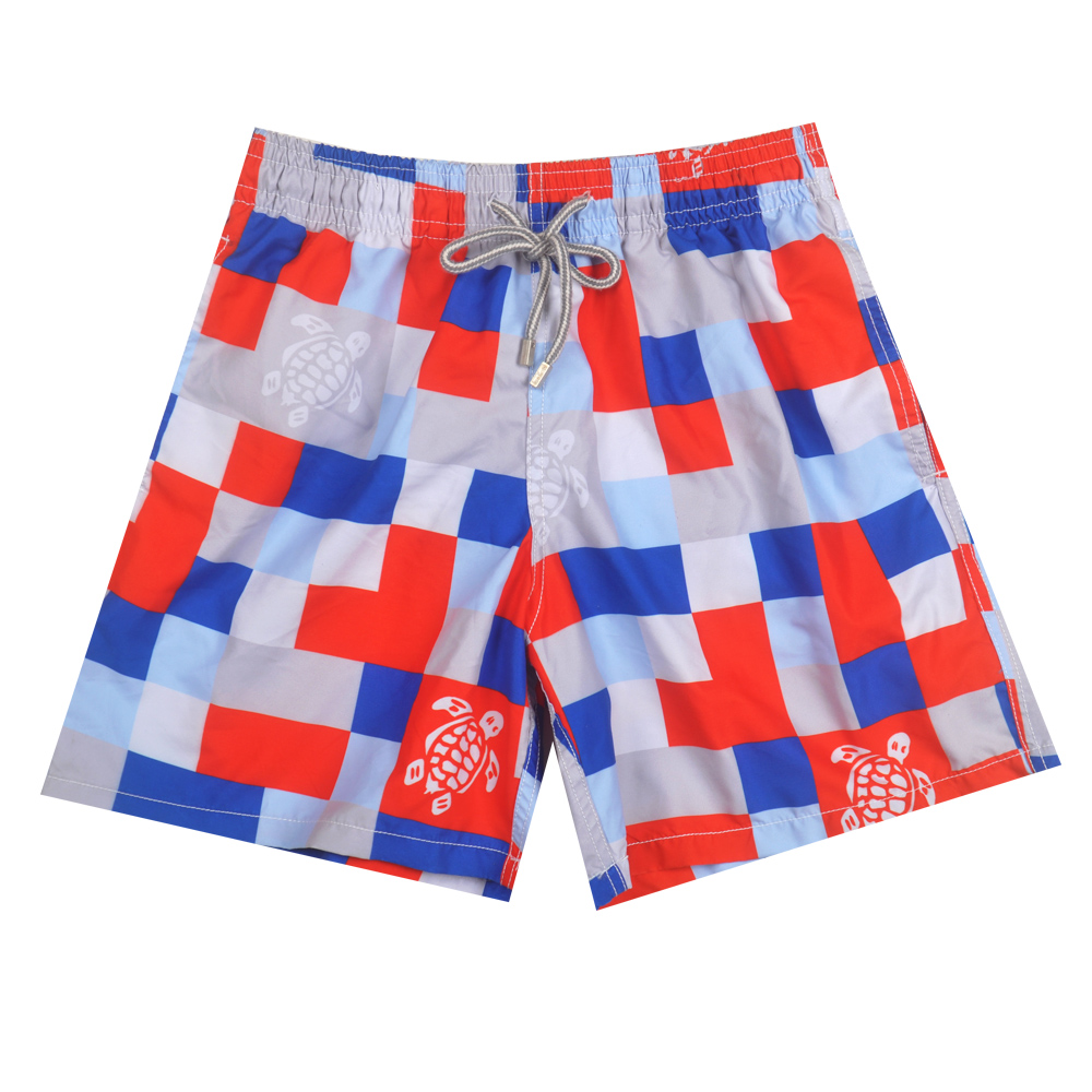 Get Quotations · BoardShorts 2015 Vilebrequin men sexy fastion brand  bermudas surffing men s shorts red tortoise swimming trunks male db452c46de