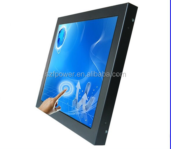 32 inch open frame led touch monitor with IR touch