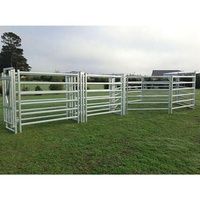 Professional Cattle Yard Fence Panels Crowd Control Barrier Factory