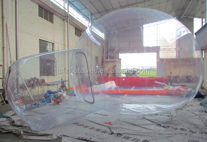 2019 outdoor leisure inflatable clear white bubble tent, transparent air dome tent for sale
