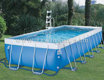 Commercial Giant Metal Frame Swimming Pool For Sale Buy