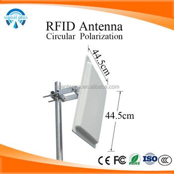 Factory Price 868mhz Uhf Rfid Antenna Circular Polarization High Gain 12dbi  Outdoor Rfid Long Range Antenna - Buy Rfid Antenna,Uhf Rfid Antenna,Rfid