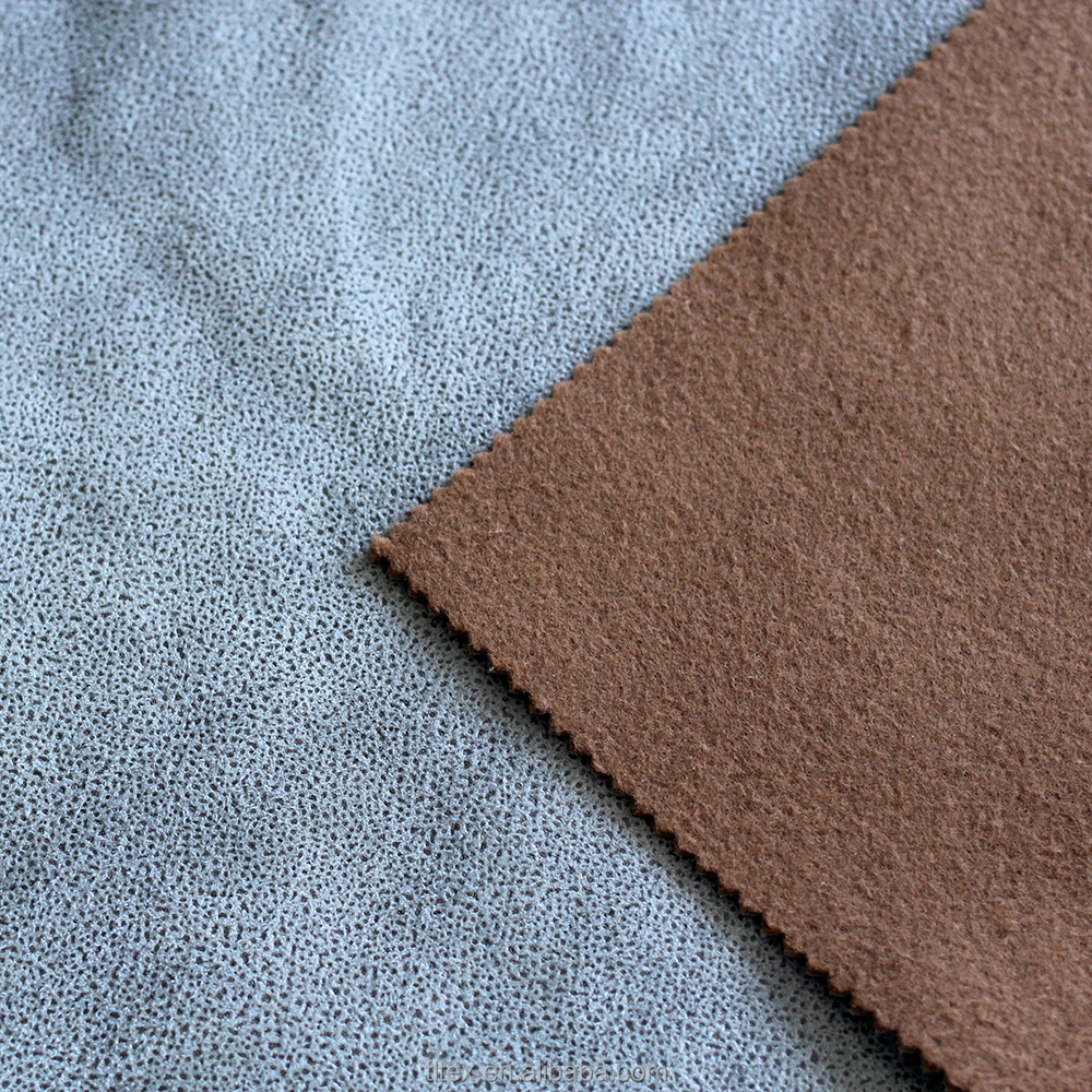 Compound two layer car upholstery fabric, carpet material, corduroy textile