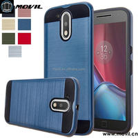 TPU PC Dual Layer Hybrid cover for moto g4 plus case cover