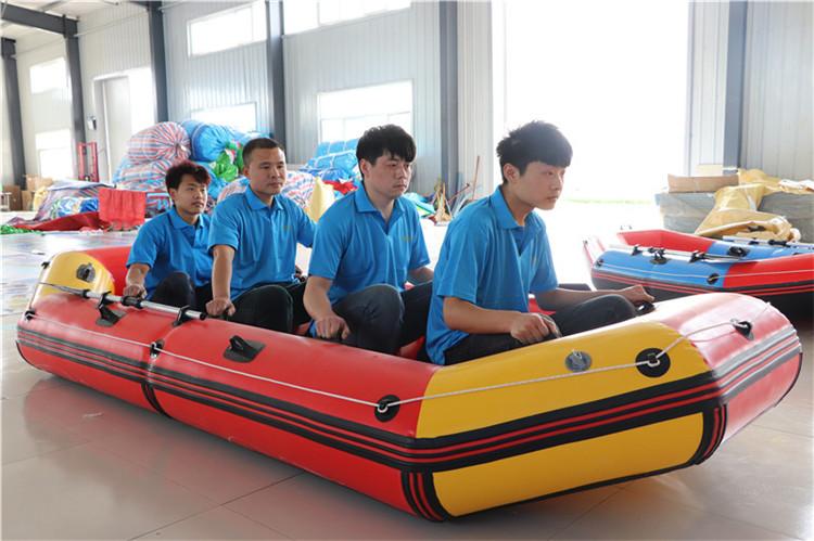 2-4 Pessoa Tecido de PVC Barco Inflável de alta Qualidade Preço de Atacado