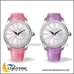 High quality vogue brand watch for green/pink/white/black/pastel watch 4018L