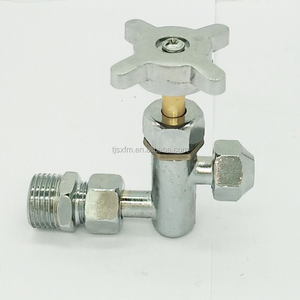 NPT 20mm *12mm Gas Cooking range valve Stainless steel Gas Needle Valves gas delivery valve