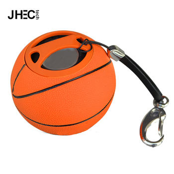 Custom outdoor sport portable giveaways xmas microphone basketball wireless  speaker with keychain 2cb0b04e02