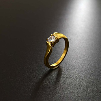 New Design La s Finger Ring Gold Ring Designs For Wedding Ring
