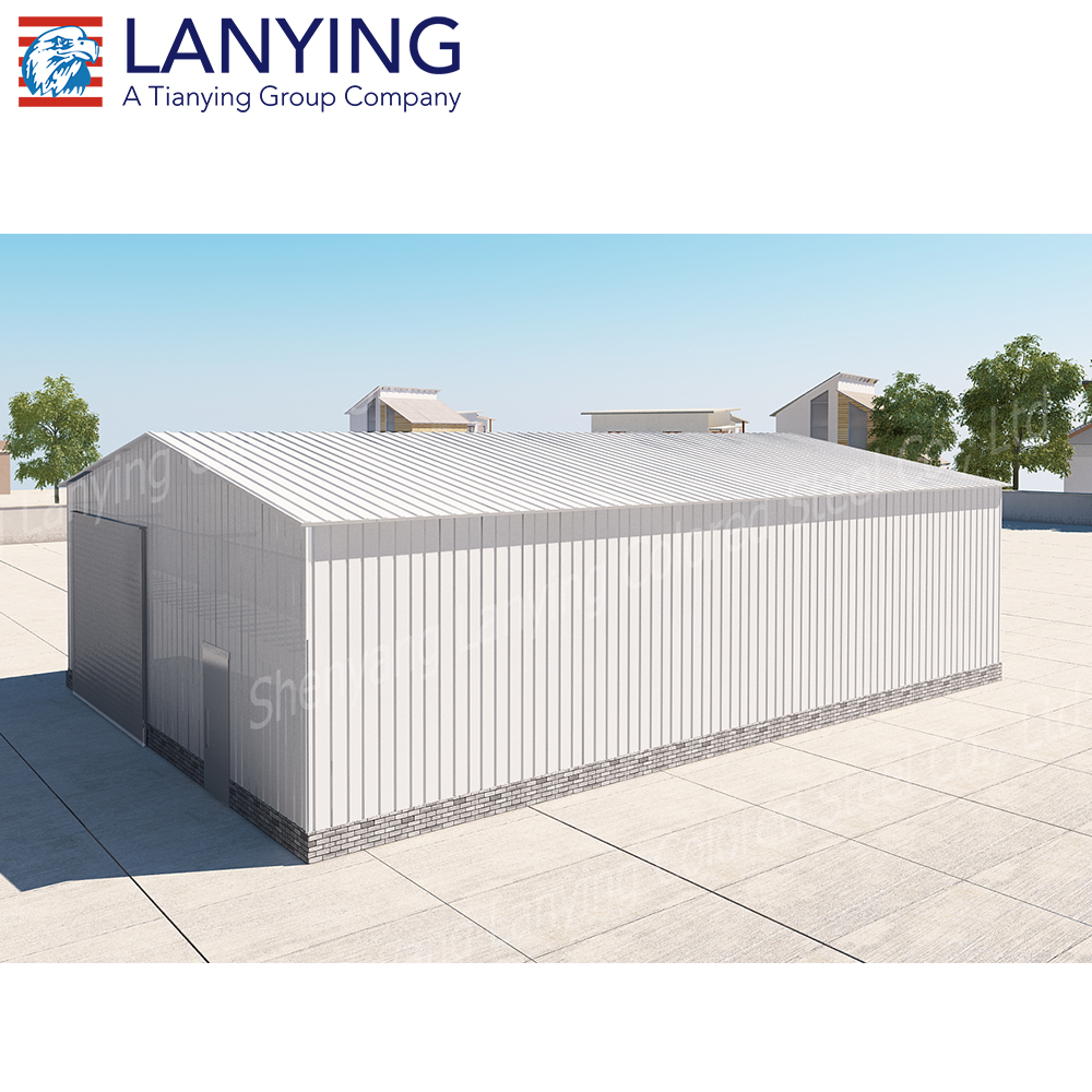 China Manufacturer Supply Easy Assemble Low Cost Prefab Warehouse For Sale