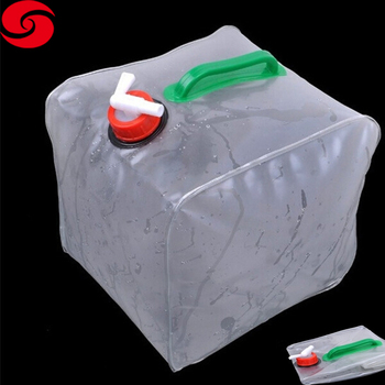 20 L camping foldable plastic water jerry can