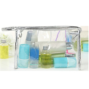 Clear PVC Travel Carry Cosmetic Makeup Bag Pouch