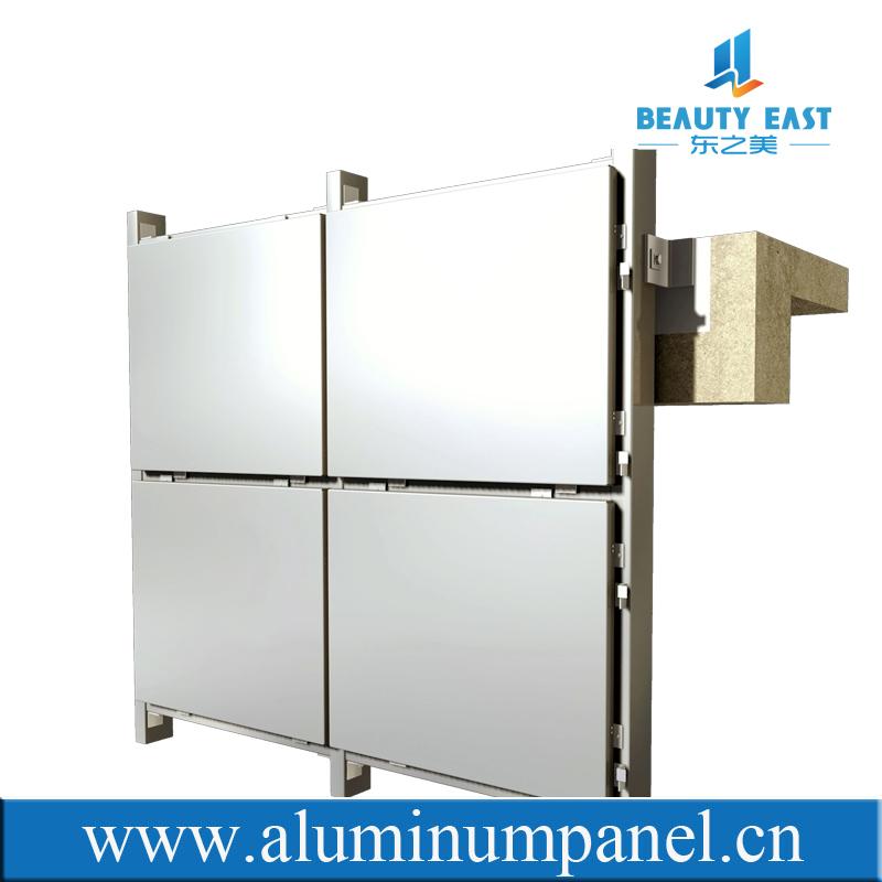 Aluminum Wall Panel Aluminium Curtain Wall Cladding Fixing
