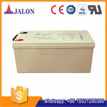 Deep cycle rechargeable storage high quality batteries sealed for solar or backup system 12v200ah gel battery
