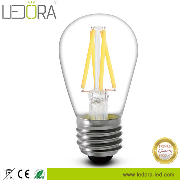 Good supplier s14 2w filament led bulbs with 2 years warranty