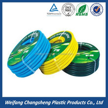 hydraulic hose pvc environmental garden hose flexible fabric hose