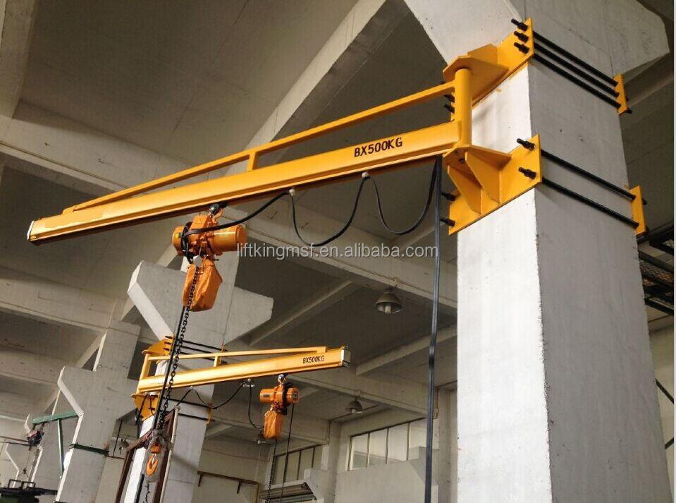 Jib Crane Mounting Brackets : Tie rod wall bracket jib crane floor mounted free