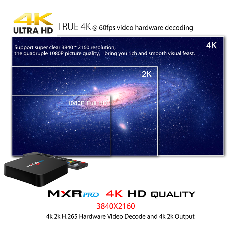 MXR PRO 4K 4G 32G Android 7.1 RK3328 Cheap MXR TV BOX smart android tv box 2gb tx3 mini