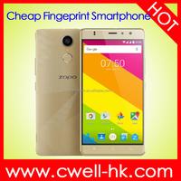 5.5 Inch HD Screen Dual SIM Card 1GB RAM 16GB ROM Zopo Herooo 2 Quad Core Android 6.0 Marshmallow 4G China Smartphone