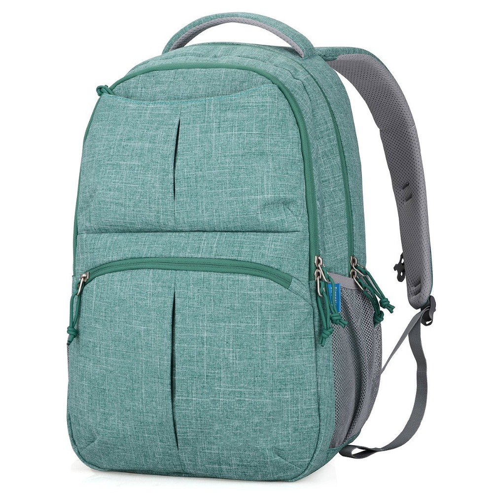 Fashion large soft Water Resistant college suit fabric laptop backpack