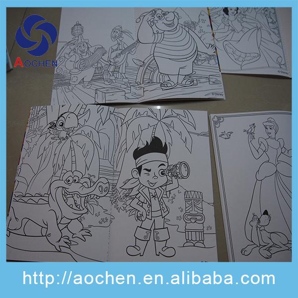 Impresión Barata Libre De Madera Dibujo Para Colorear Libros Para ...