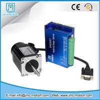Hybrid DC stepper servo motor and driver cnc stepper system kit