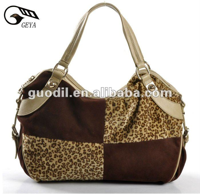 New Fashion ! Trendy Lady Leopard Handbag With PU! Hot style!
