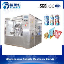 Factory direct sale spout pouch filling machine for milk and juice
