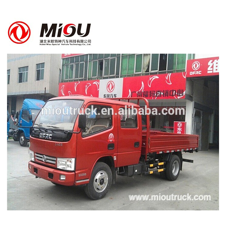 Dongfeng 4X2 Double cab cargo truck L / R hand drive available for sale