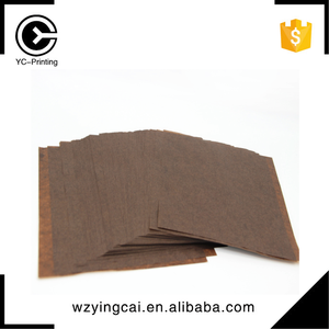 Virgin printed brown decorative coated kraft food wax paper with designs