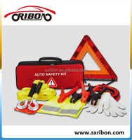 6 in 1 auto safety kits/emergency kits for car