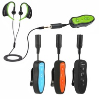 4GB/8GB MP3 Player IPX8 Waterproof Mini Clip Design Sports MP3 Music Player with Headphone for Swimming