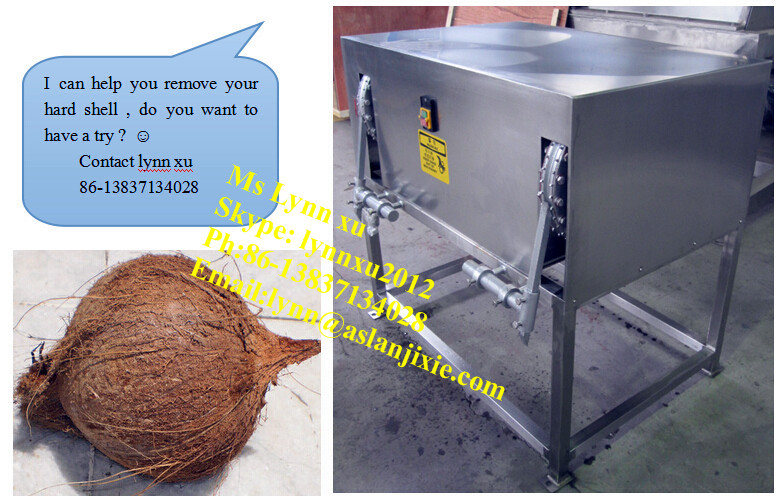 Coconut Hard Shell Removing Machine /coconut Peeler