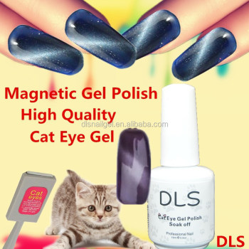 Cat Eyes Polish Gel Peerling Off Uv Lamp Glue Nails Art Magnetic